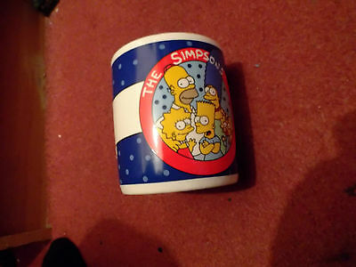 A Mug Marked The Simpsons