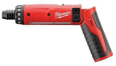 MILWAUKEE 2101-20 Cordless Screwdriver, 4V, 1/4 In.