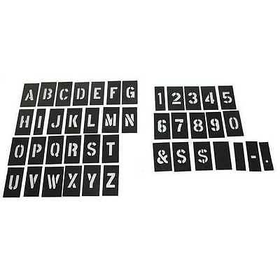 20Y524 STENCIL NUMB&LTR KIT 2 In PLASTIC 138PCS