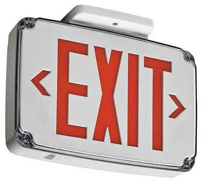 Acuity Lithonia Thermoplastic LED Exit Sign/ Battery Backup, WLTE W 2 R EL