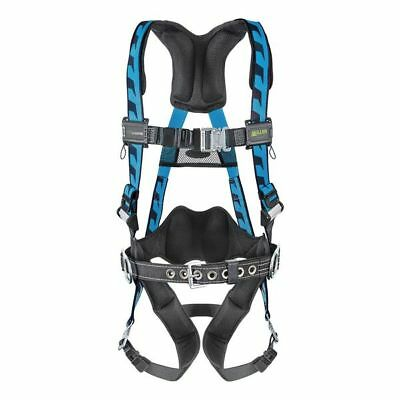 Blue Full Body Harness, AC-QC-BDP/S/MBL, Miller By Honeywell