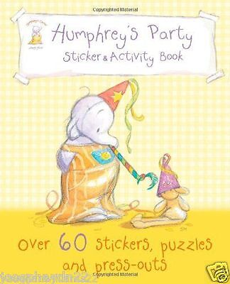 NEW - HUMPHREY'S PARTY sticker and activity book HUMPHREYS CORNER