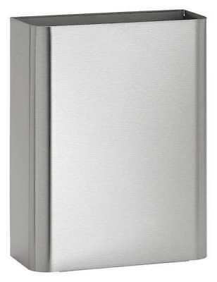 BRADLEY 357-000000 Waste Receptacle, Stainless Steel, 6 In.L