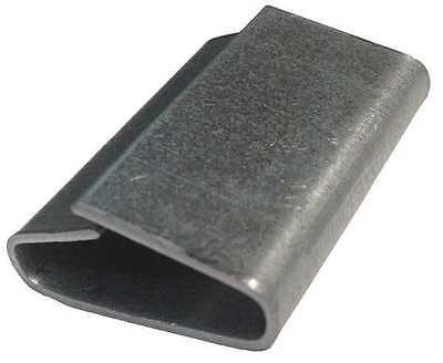 33KF03 Strapping Seal, Push, 3/8 in., PK5000