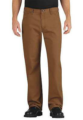 DICKIES LU239RBD 34X32 Jeans,Mens,34in. Size,32in. Inseam,Brown