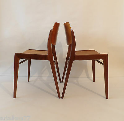 Teak Dining Chairs by Hartmut Lohmeyer for Wilkhahn, Germany 1960-1963