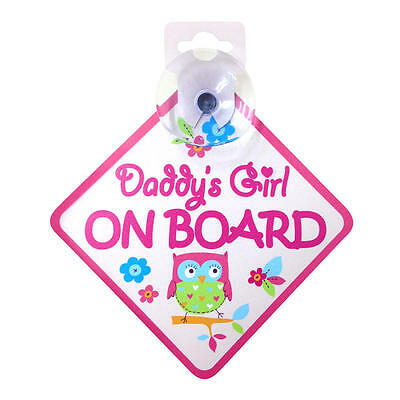 New Babies'R'Us Daddy's Girl On Board Model:19330186