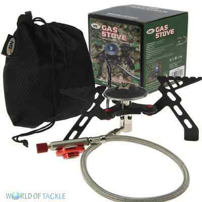 Fishing Gas Portable Stove NGT Compact High Output 3000w Camping Cooker