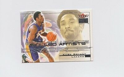 NBA : Kobe Bryant Skilled Artists Insert Basketball Card - Los Angeles Lakers