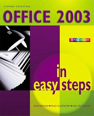 Office 2003 in Easy Steps Stephen Copestake In Easy Steps Limited Anglais Broche