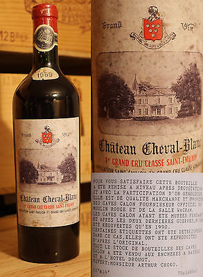 1959er Chateau Cheval Blanc - Saint Emilion 1er Grand Cru Classe - Top  !!!!!!
