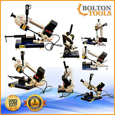 """Bolton Tools 3"""" x 4"""" Portable Metal Cutting Band Saw BS-85"""