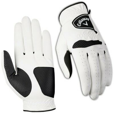 New Callaway Xtreme 365 Men's Golf Glove - White - Pick Size
