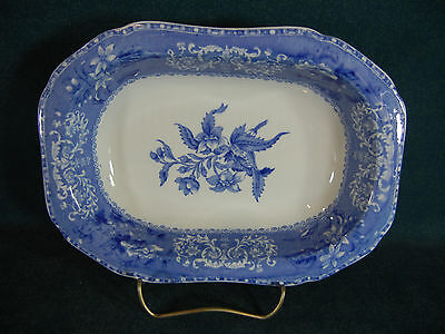 "Copeland Spode Blue Camilla Small 8 1/8"" Rectangular Serving Bowl"