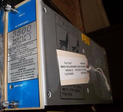 Bently Nevada 3500 3500/15 Power Supply Pwa 127610-01N Pcw 1.1 126399-01G (Ii2)