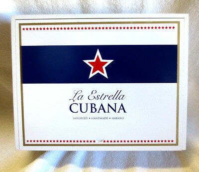 La Estrella Cubana Toro Wood Cigar Box -  Beautiful!