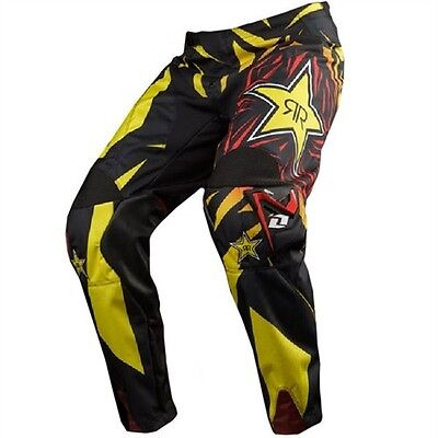 One Industries Carbon  Pant Rockstar Energy Motocross  Mx Off Road Size 28