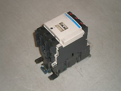 Telemecanique LC1 D40 Contactor LC1 D4011 Coil: 120 VAC, 3 Pole with Auxiliary