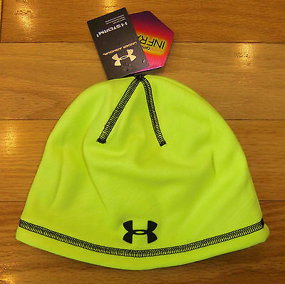 "NWT UNDER ARMOUR Storm ColdGear Infrared Boys ""Elements 2.0"" Beanie-OSFM @$25"
