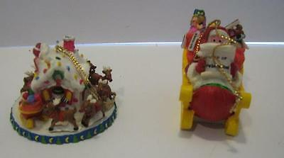 Mcdonalds Mcmemories 2 Christmas Ornaments Night Before Collectors Club/30566