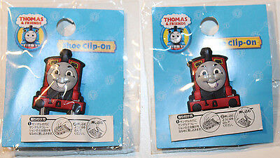 Thomas & Friends James Authentic Pair of Clip-On Shoe Charms from Japan
