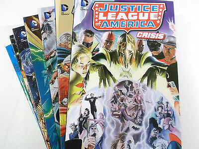 JUSTICE LEAGUE OF AMERICA: CRISIS 1 2 3 4 5 6 7 von 7 komplett Softcover NEU