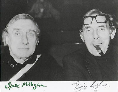 SPIKE MILLIGAN & ERIC SYKES 'THE GOONS' HAND SIGNED AUTOGRAPHED 8x10 PHOTO