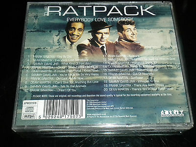 The Ratpack - Everybody Love Somebody - 2004 - CD Album - 20 Great Tracks