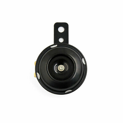 Black Metal 110DB Electric Horn Siren Trumpet DC 12V 1.5A for Motorcycle Scooter