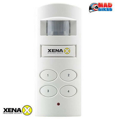 Motorcycle Shed Garage Security Alarm - PIR Motion Sensor. Wireless Connection