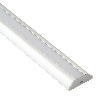 LED Supplies 1m Aluminium Extrusion for LED Strips Chamfered Edge
