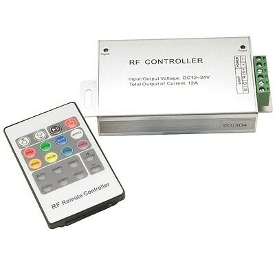 PowerPax UK RGB4253 RF RGB Controller 12/24VDC 4A per Channel with Remote