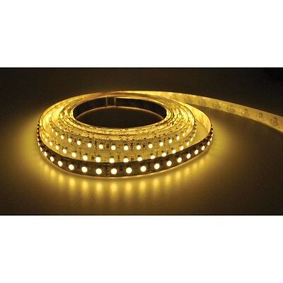PowerPax UK 1MFL-300SMD-WW 1m 12V LED Strip Warm White 2.1mm 60pcs 4.8W