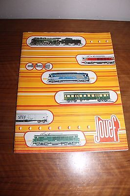 Catalogue Jouef Collection 1974 Trains