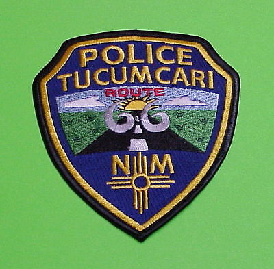 Tucumcari  New Mexico  Nm  Route 66  Police Patch   Free Shipping!!!