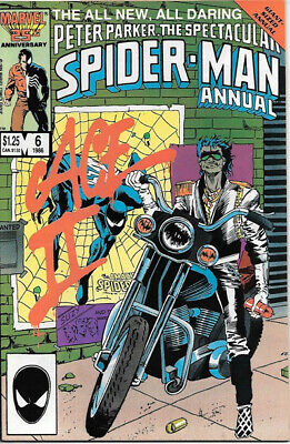 The Spectacular Spider-Man Comic Book Annual #6, Marvel Comics 1986 NEAR MINT