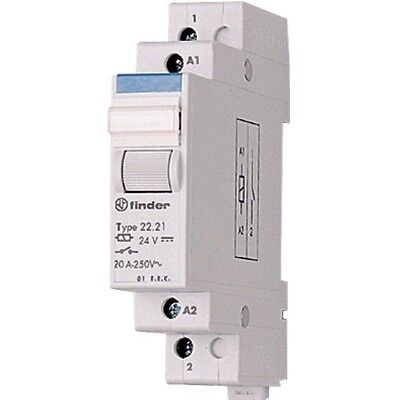 Finder 22.22.9.012.4000 Modular Relay DPST-NO 12VDC 20A