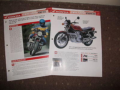 CLASSIC HONDA CBX 1000 the complete data / fact file from essential superbikes