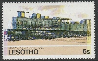Lesotho (1267) - 1984 Railways ORIENT EXPRESS with COLOUR SHIFT  unmounted mint