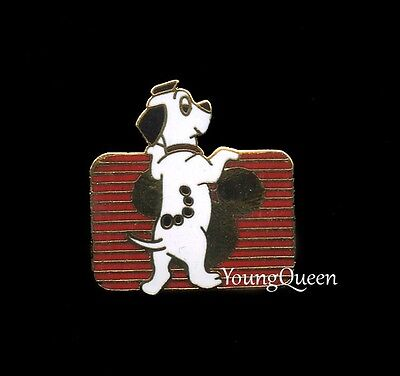 Disney 101 Dalmatians Puppy Dog Lucky Channel 1990s Pin
