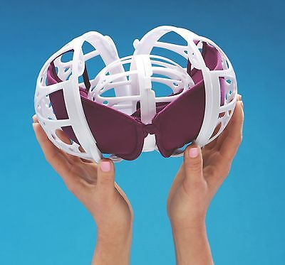 BraBABY - Bra Washer, Bra Saver, Bra Protector Ball for the Washer and Dryer