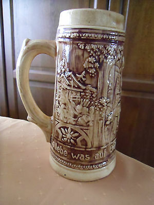 MADE IN CANADA-German Writing Around The Beer Stein.