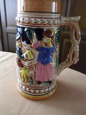 """MADE IN JAPAN-""""Cheers To The Fraulein"""" Beer Stein."""