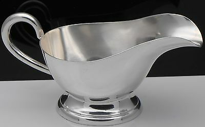 Vintage Hotelware Style Gravy / Sauce Boat - Silver Plated - Walker & Hall