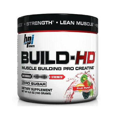 BPI Sports Build-HD Ultimate Muscle-Building Energy Supplement Best by 4/16&4/17