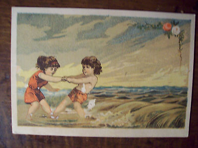 Antique The Great American Tea Co. New York . Victorian Trade Card