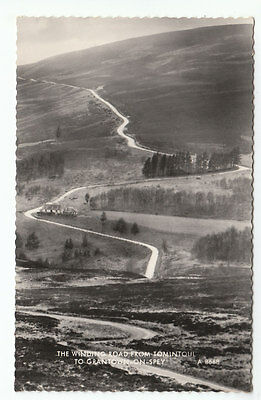The Winding Road From Tomintoul To Grantown On Spey 1939 Real Photograph