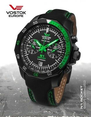 Vostok Europe Rocket N1 Chrono Quarz 6S21-2254252