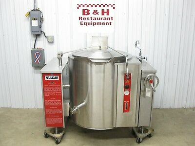 Vulcan 40 Gallon Gas Steam Jacket Tilt Soup Kettle w/ Draw Off Valve VGLT40