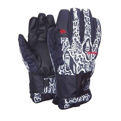 New 2016 Celtek Faded Wrist Guard Protection Snowboard Gloves Large Sketchy Tank
